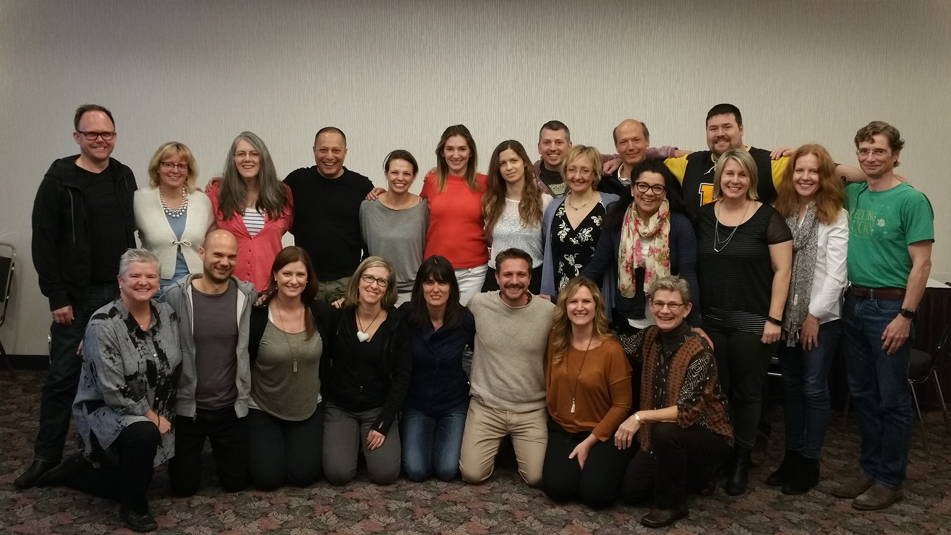 Integral Coaching Canada's Spring 2017 Master Certification Module Class